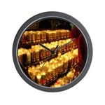 Velas/candles Wall Clock