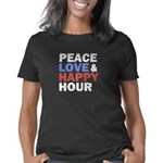 Peace Love Happy Hour Women's Classic T-Shirt