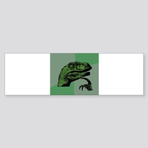 Philosoraptor Sticker (Bumper)