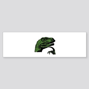 Philosoraptor Clean Sticker (Bumper)