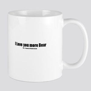 I love you more Bears(TM) Mug