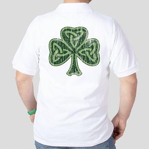 Vintage Trinity Shamrock Golf Shirt