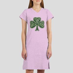Vintage Trinity Shamrock Women's Nightshirt