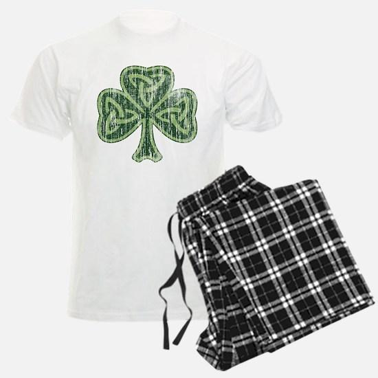Vintage Trinity Shamrock Pajamas