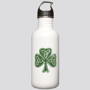Vintage Trinity Shamrock Stainless Water Bottle 1.