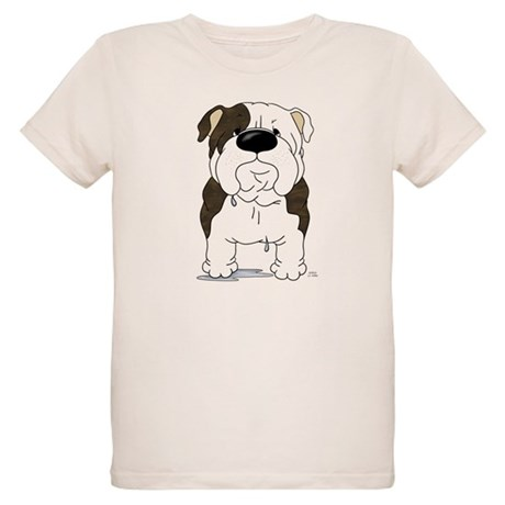 Big Nose Bulldog Organic Kids T-Shirt