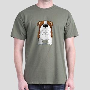 Big Nose Bulldog Dark T-Shirt
