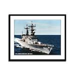 USS JOHN RODGERS Framed Panel Print