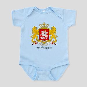 Georgia Greater Coat of Arms Infant Bodysuit