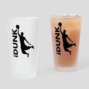 iDunk Basketball Drinking Glass