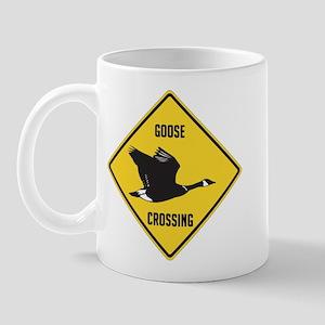 Canada Goose Crossing Sign Mug