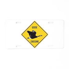 Canada Goose Crossing Sign Aluminum License Plate