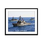 USS JOHN S. MCCAIN Framed Panel Print