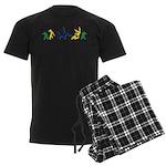 Capoeira Men's Dark Pajamas
