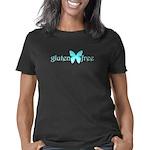 gluten-free-butterfly-teal Women's Classic T-Shirt