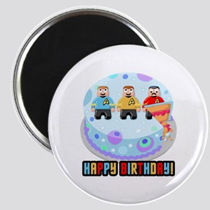 Star Trek Birthday Cake Magnets