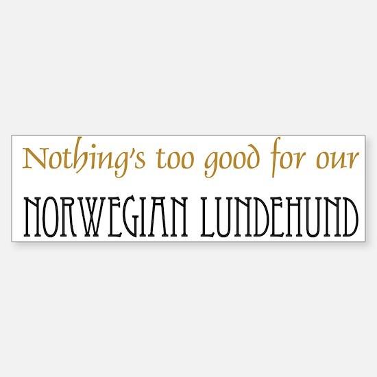 OUR Norwegian Lundehund Sticker (Bumper)