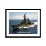 USS JOSEPH STRAUSS Framed Panel Print