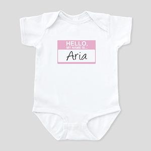 Hello, My Name is Aria - Infant Bodysuit