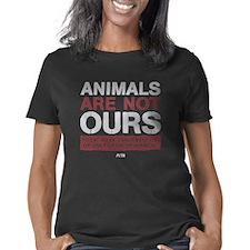 animalsarenotoursDARK Women's Classic T-Shirt