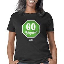 Go Vegan Women's Classic T-Shirt
