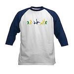 Capoeira Kids Baseball Tee