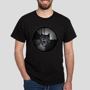 Insanity Wolf Circle Dark T-Shirt