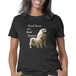 nousty_proudparent_on_ligh Women's Classic T-Shirt