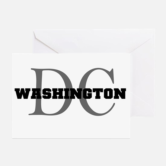 Washington thru DC Greeting Cards (Pk of 10)
