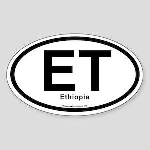 ET - Ethiopia Sticker (Oval)