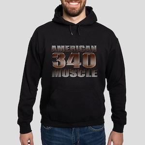 American Mopar Muscle 340 Hoodie (dark)