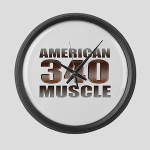 American Mopar Muscle 340 Large Wall Clock
