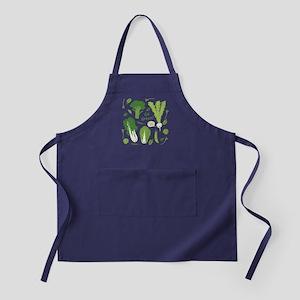 Go Green! (Leafy Green!) Apron (dark)