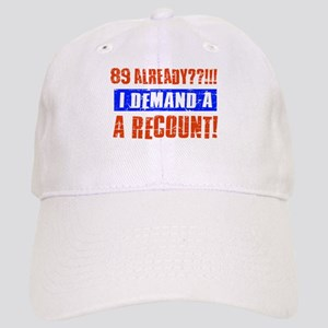 89th birthday design Cap