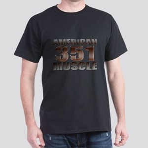 American Ford Muscle 350 Clev Dark T-Shirt
