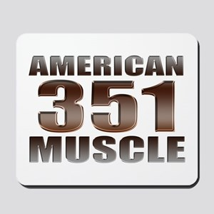 American Ford Muscle 350 Clev Mousepad