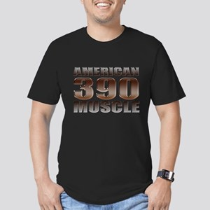 American Muscle 390 Ford Men's Fitted T-Shirt (dar