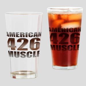 American Muscle 426 Hemi Drinking Glass
