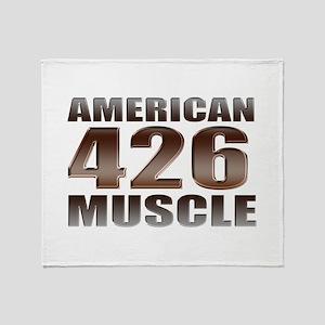 American Muscle 426 Hemi Throw Blanket
