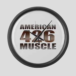 American Muscle 426 Hemi Large Wall Clock
