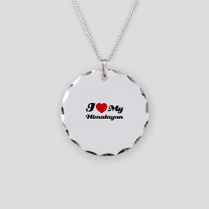 I love my Himalayan Necklace Circle Charm