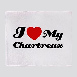 I love my Chartreux Throw Blanket