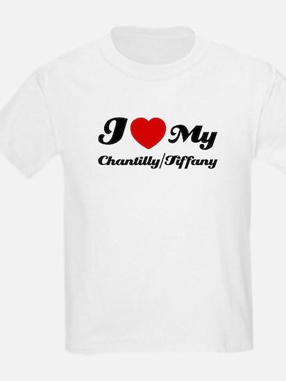 I love my Chantilly/Tiffany T-Shirt