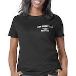 asheville letters white Women's Classic T-Shirt