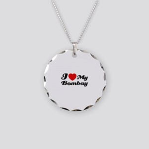 I love my Bombay Necklace Circle Charm
