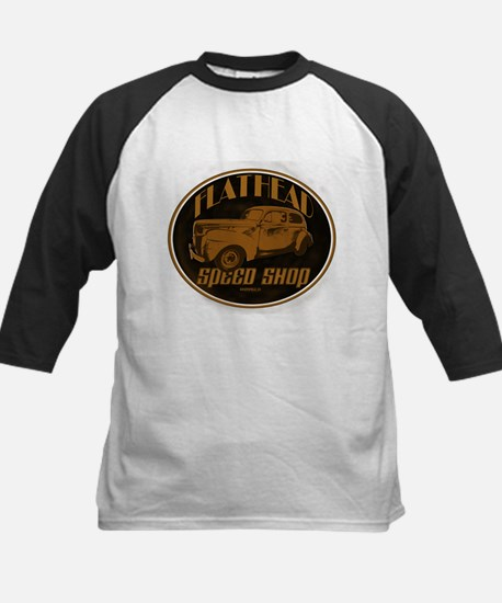 1940 Ford Deluxe Coupe Flathe Kids Baseball Jersey