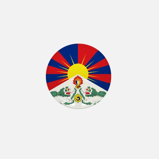 Cute Free tibet Mini Button