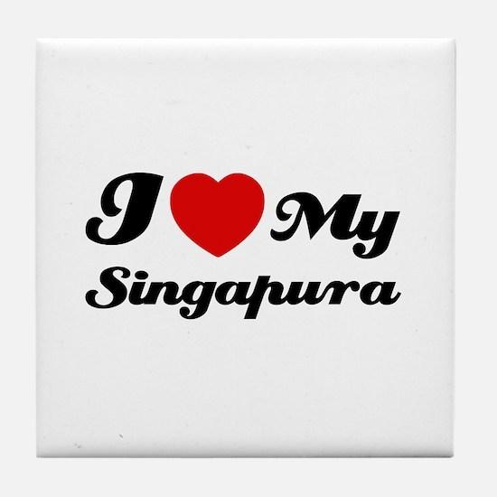 I love my Singapura Tile Coaster