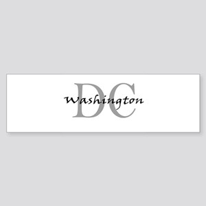 Washington thru DC Bumper Sticker