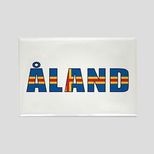 Åland Rectangle Magnet